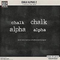 Chalk Alphas 2