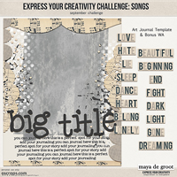 Express Your Creativity Challenge: Songs