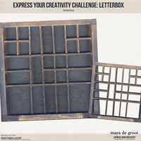 Express Your Creativity Challenge: Letterbox