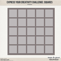 Express Your Creativity Challenge: Squares
