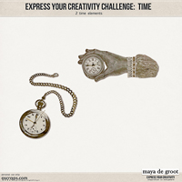 Express Your Creativity Challenge: Time