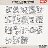 Holiday Expression Cards
