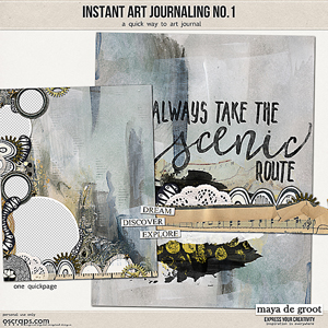 Instant Art Journaling 1