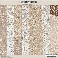 Lace Doily Papers