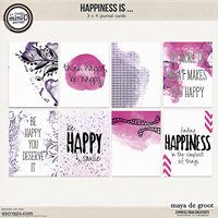 Happiness is ... Journal Cards set 2