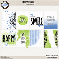 Happiness is ... Journal Cards set 1