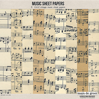 Music Sheet Papers