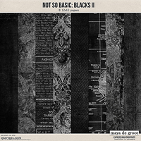 Not So Basic: Blacks II