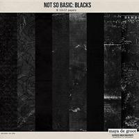 Not So Basic: Blacks