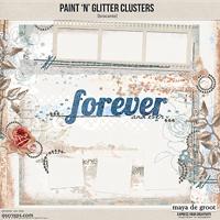 Paint 'n' Glitter Clusters [brocante]
