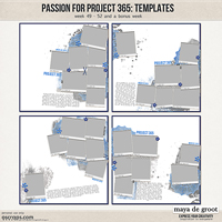 Passion for Project 365 Templates set 13