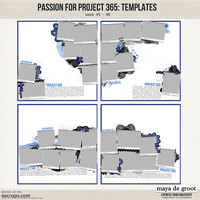 Passion for Project 365 Templates set 12