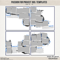 Passion for Project 365 Templates set 11