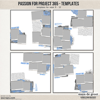 Passion for Project 365 Templates set 3