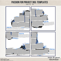 Passion for Project 365 Templates set 9