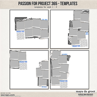 Passion for Project 365 Templates