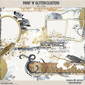 Paint 'n' Glitter Clusters [Bric a Brac]