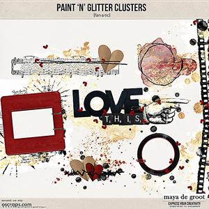 Paint 'n' Glitter Clusters [Fanatic]