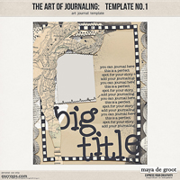 The Art of Journaling: Template no. 1