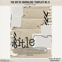 The Art of Journaling: Template no. 6