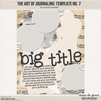 The Art of Journaling: Template no. 7