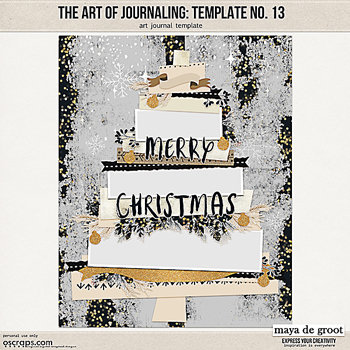 The Art of Journaling: Template no. 13