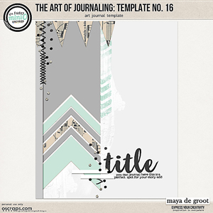 The Art of Journaling: Template no. 16