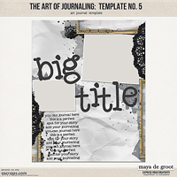 The Art of Journaling: Template no. 5