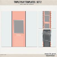 Triple Play Templates: Set 2