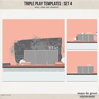 Triple Play Templates: Set 4