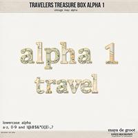 Travelers Treasure Box - Alpha 1
