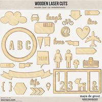 Wooden Laser Cuts