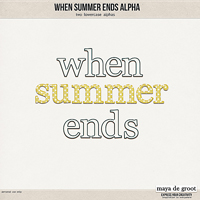 When Summer Ends - Alpha