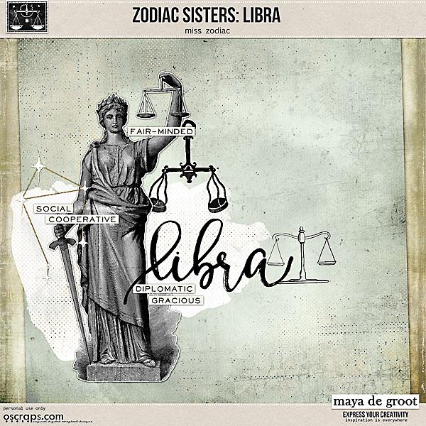 Zodiac Sisters: Libra
