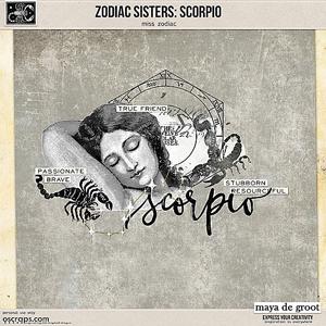 Zodiac Sisters: Scorpio