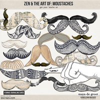 Zen and the Art of:  Moustaches