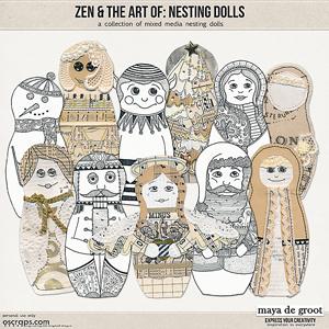 Zen and the Art of:  Nesting Dolls