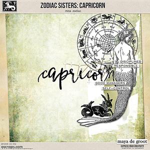 Zodiac Sisters: Capricorn