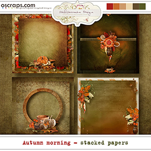 Autumn morning (Stacked papers)