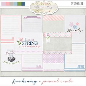 Awakening (Journal cards)
