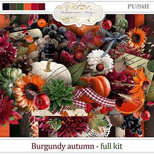 Burgundy autumn (Full kit)