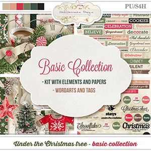 Under the Christmas tree (Basic collection 2 in 1)