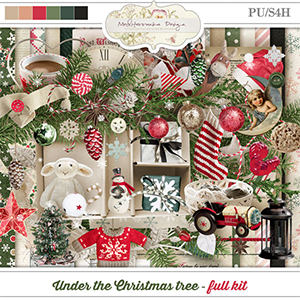 Under the Christmas tree (Full kit)