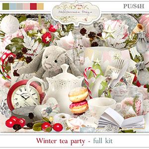 Winter tea party (Full kit)