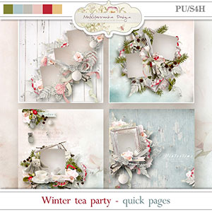 Winter tea party (Quick pages)
