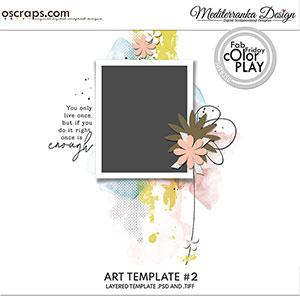 Art template 2
