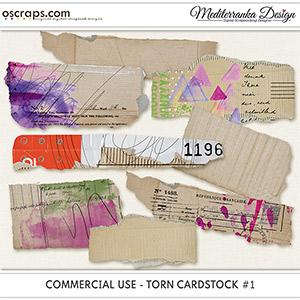 CU - Torn cardstock #1