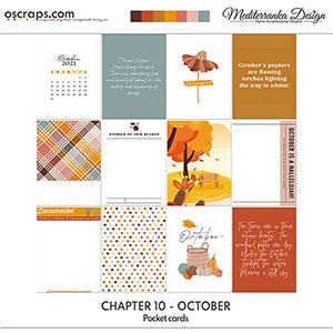 Chapter 10 - October (Pocket cards)