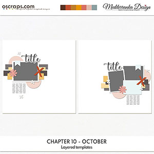 Chapter 10 - October (Layered templates)