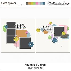 Chapter 4 - April (Layered templates)